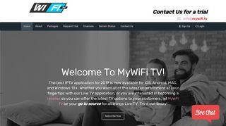 MyWiFi TV Live TV Activation Portal