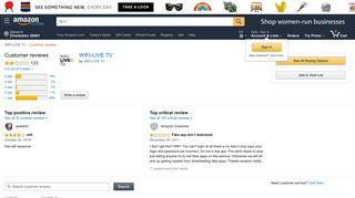 Amazon.com: Customer reviews: WIFI-LIVE TV