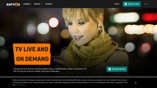 Live TV – Free TV anywhere. Internet TV with Zattoo.