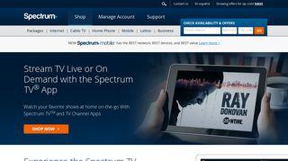 Stream TV App - TV Shows, Live TV, & Movies | Spectrum TV App