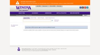 Search Results : Student Eservices Login - MyWSU - Winona State ...