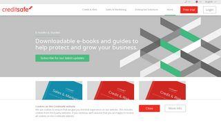 Download the latest E-books & Guides | Creditsafe