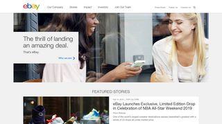 eBay: Company Information: Home - eBay Inc.