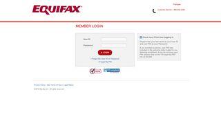 Equifax Credit Watch - Member Login