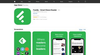 Feedly - Smart News Reader on the App Store - iTunes - Apple