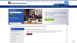 Business Banking, Credit Cards, Loans | First Citizens Bank