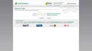 First Citizens Bank Limited, - Customer Login