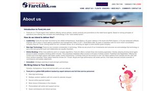 Flights Booking Engine - FareLink
