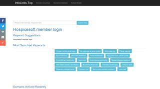 Hospicesoft member login Search - InfoLinks.Top