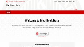 My Illinois State: Home
