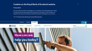 Royal Bank of Scotland: Business