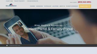 Student & Faculty Portal | CollegeAmerica