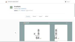 XtraMath - Google Chrome