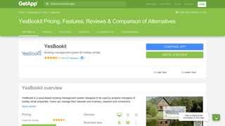 YesBookit Pricing, Features, Reviews & Comparison of Alternatives ...