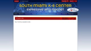 Application - South Miami K-8 Center
