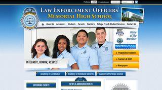 Law Enforcement Officers' Memorial High School
