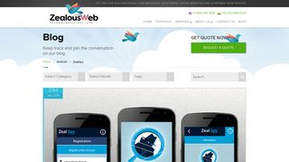 ZealSpy - Web Design Firm - ZealousWeb