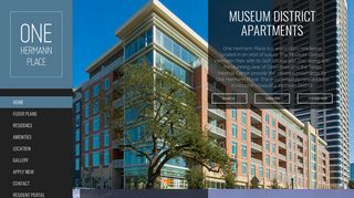 One Hermann Place: Museum District Apartments