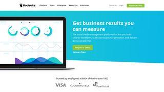 Hootsuite: Social Media Marketing & Management Dashboard