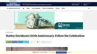 Harley-Davidson's 110th Anniversary: Follow the Celebration ...