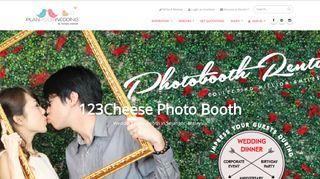 PlanYourWedding: 123Cheese Photo Booth - Photobooth