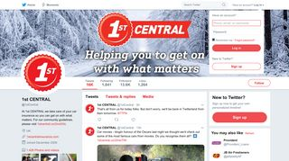 1st CENTRAL (@1stCentral) | Twitter