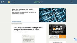 First Niagara converts to KeyBank: 7 things customers need to know ...