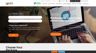 Customer Email Login | Professional Email Hosting | Reliable - UK2.net
