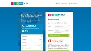 Welcome to 123-reg Webmail | Webmail log in | 123-reg