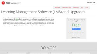 Learning Management System - LMS | 360training.com Authoring ...