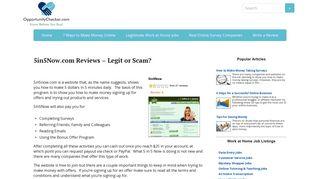 5in5Now.com Reviews – Legit or Scam? - OpportunityChecker.com