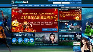 Danabet | Agen Judi Bola Terpercaya, Situs Slot Online Uang Asli