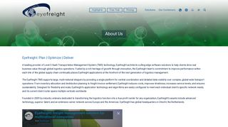 Transportation Management Eyefreight