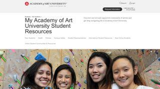 My Academy of Art: Student Resources | Academy of Art University