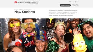 New Students - Student Resources | Academy of Art University