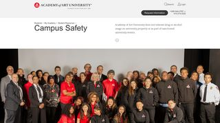 Campus Safety and Crime Prevention | Academy of Art University