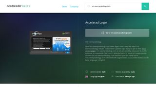 Get Vrn.seemyradiology.com news - Accelarad Login