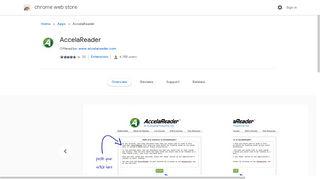 AccelaReader - Google Chrome