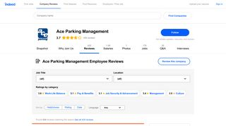 Ace Parking Management Pay & Benefits reviews - Indeed