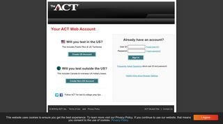 ACT login - ACT - The ACT Test