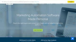 Act-On: Marketing Automation Software - Marketing Platform