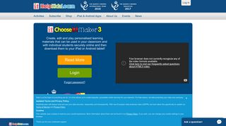 Create personalised choice-making activities for use ... - HelpKidzLearn