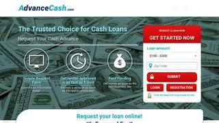 Why Cash Advance with advancecash.com?