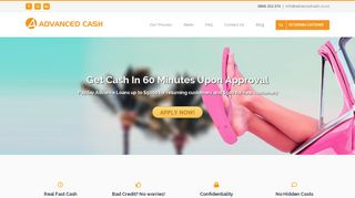 Advanced Cash: Payday Advance in NZ - Loans Up To $5000
