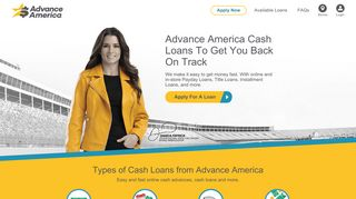 Advance America: Easy and fast online cash advances, cash loans
