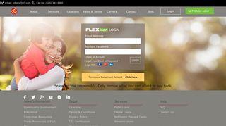 Advance Financial 247 Online Flex Loan Login or Apply Now-af247.com