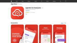 Agendrix for Employees on the App Store - iTunes - Apple