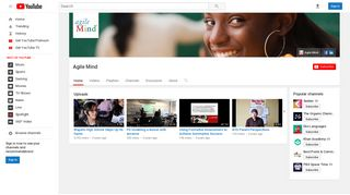 Agile Mind - YouTube