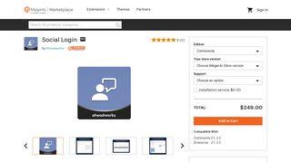 Social Login - Magento Marketplace