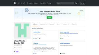 aheadWorks (aheadWorks Capital SIA) · GitHub